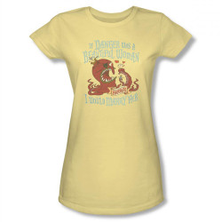 Image for Misadventures of Flapjack if Danger was a Beautiful Woman Girls Shirt