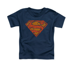 Image for Superman Toddler T-Shirt - Messy S
