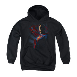 Image for Superman Youth Hoodie - Super Deco