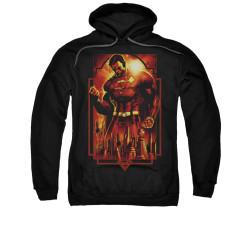 Image for Superman Hoodie - Metropolis Deco