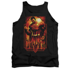 Image for Superman Tank Top - Metropolis Deco