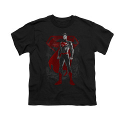 Image for Superman Youth T-Shirt - Aftermath