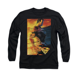 Image for Superman Long Sleeve Shirt - Fireproof