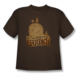 Image for Misadventures of Flapjack Olde Time Friends Youth T-Shirt