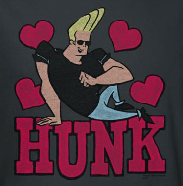 Image for Johnny Bravo Hunk T-Shirt