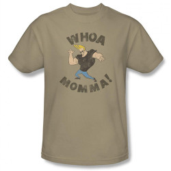 Image Closeup for Johnny Bravo Whoa Mamma T-Shirt