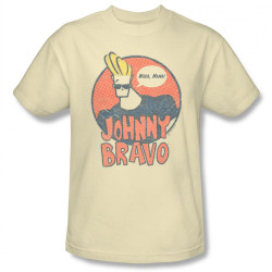 Image Closeup for Johnny Bravo Wants Me T-Shirt
