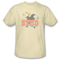 Image Closeup for Johnny Bravo Stud T-Shirt