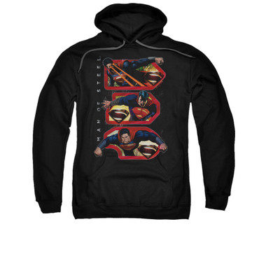 Image for Superman Hoodie - Tri Supes