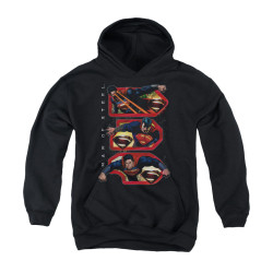 Image for Superman Youth Hoodie - Tri Supes