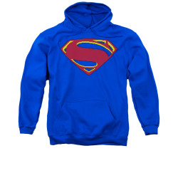 Image for Superman Hoodie - 8 Bit Shield