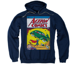 Image for Superman Hoodie - Action No. 1