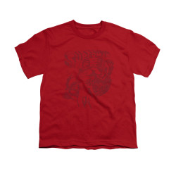 Image for Superman Youth T-Shirt - Code Red