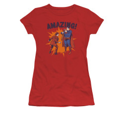 Image for Superman Girls T-Shirt - Amazing