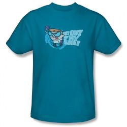 Image Closeup for Dexter's Laboratory Get Out! T-Shirt
