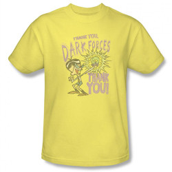 Image Closeup for Dexter's Laboratory Mandark Thank You Dark Forces T-Shirt