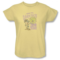 Image for Dexter's Laboratory Mandark Thank You Dark Forces Woman's T-Shirt