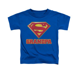 Image for Superman Toddler T-Shirt - Super Grandpa