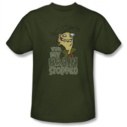 Image Closeup for Ed Edd n Eddy Brain Dead Ed T-Shirt