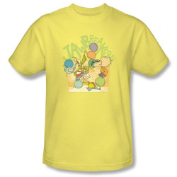 Image Closeup for Ed Edd n Eddy Jaw Breakers T-Shirt