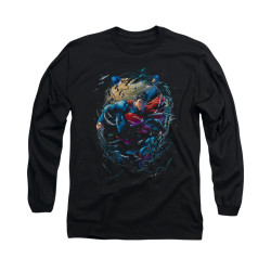 Image for Superman Long Sleeve Shirt - Breaking Space
