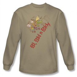 Image for Ed Edd n Eddy Downhill Long Sleeve T-Shirt