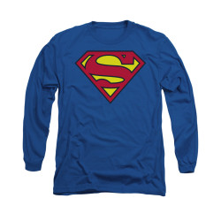 Image for Superman Long Sleeve Shirt - Classic Logo