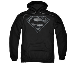 Image for Superman Hoodie - Barbed Wire