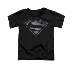 Image for Superman Toddler T-Shirt - Barbed Wire