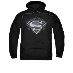 Image for Superman Hoodie - Biker Metal