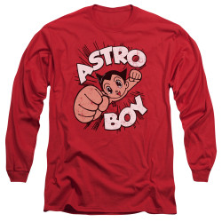 Image for Astro Boy Long Sleeve Shirt - Flying