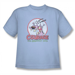Image for Courage the Cowardly Dog Vintage Courage Youth T-Shirt