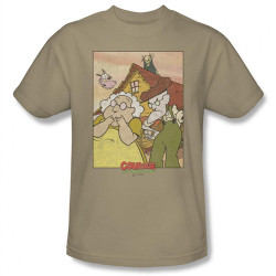 Image Closeup for Courage the Cowardly Dog Gothic Courage T-Shirt