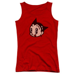 Image for Astro Boy Girls Tank Top - Face