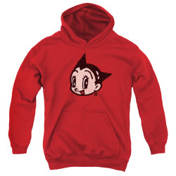 Image for Astro Boy Youth Hoodie - Face