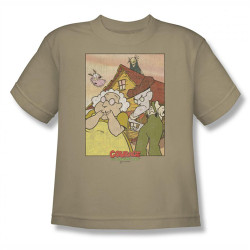 Image for Courage the Cowardly Dog Gothic Courage Youth T-Shirt