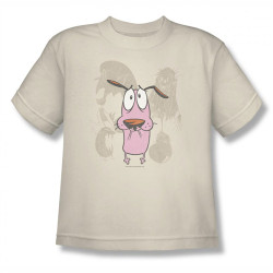 Image for Courage the Cowardly Dog Monsters Youth T-Shirt