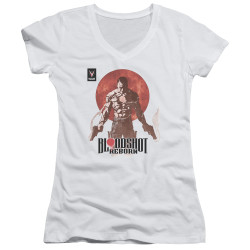 Image for Bloodshot Girls V Neck - Reborn
