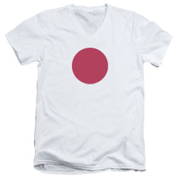 Image for Bloodshot V Neck T-Shirt - Spot