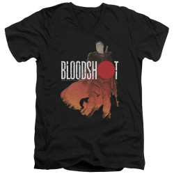 Image for Bloodshot V Neck T-Shirt - Taking Aim