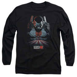 Image for Bloodshot Long Sleeve Shirt - Blood Lines