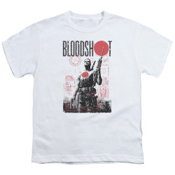 Image for Bloodshot Youth T-Shirt - Death By Tech
