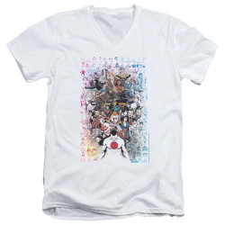 Image for Valiant V Neck T-Shirt - Everybody's Here