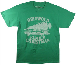 Image Closeup for Griswold Family Christmas Vacation T-Shirt
