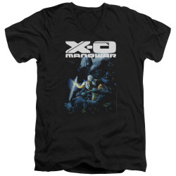 Image for X-O Manowar V Neck T-Shirt - By the Sword