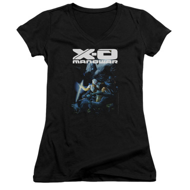 Image for X-O Manowar Girls V Neck - By the Sword