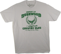Image Closeup for Caddyshack Property of Bushwood T-Shirt
