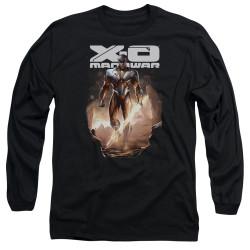 Image for X-O Manowar Long Sleeve Shirt - Lightning Sword