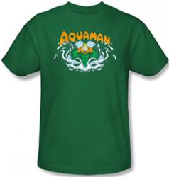 Image Closeup for Aquaman Splash T-Shirt