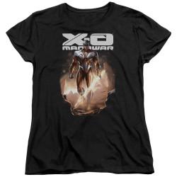 Image for X-O Manowar Womans T-Shirt - Lightning Sword
